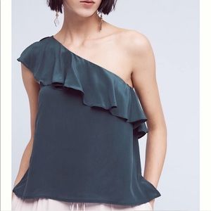 Anthropologie Maeve One Shoulder Top 4